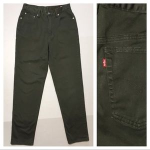 Levi's 512 Slim Fit High Waist Tapered Mom Jeans
